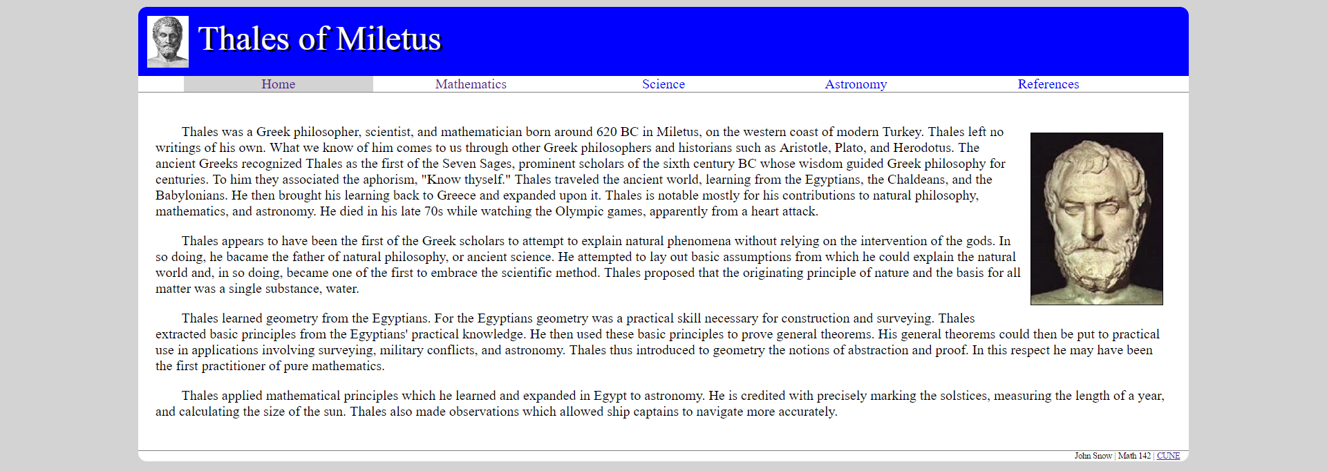 ancient greeks and mathematics science and
